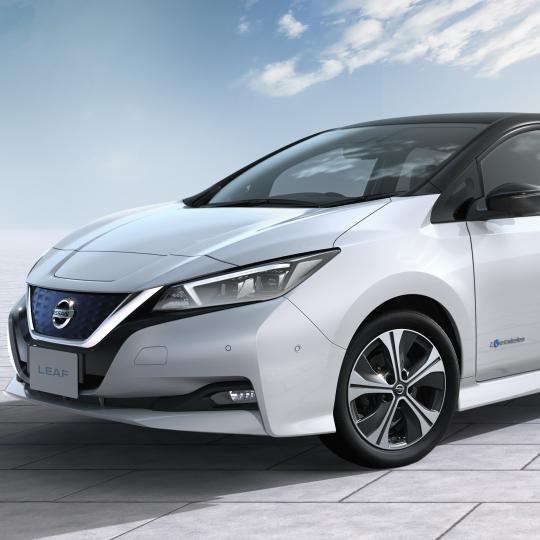La voiture électrique Nissan LEAF